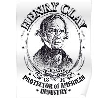 Henry Clay 1844 Presidential Campaign Poster