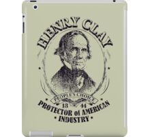Henry Clay 1844 Presidential Campaign iPad Case/Skin
