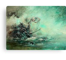 A Prophecy Unheeded Canvas Print