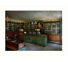 Pharmacy - The Chemist Shop  Art Print
