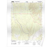 USGS TOPO Map Arizona AZ Little Park Lake 20120515 TM Poster