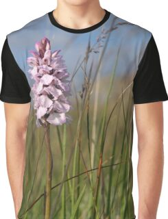 Spotted Orchid,  Portnoo, Co. Donegal Graphic T-Shirt
