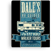 Dale's Walker Tours Canvas Print
