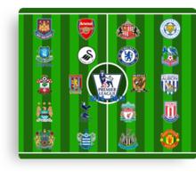 EPL~English Premier League 2014~2015 Canvas Print