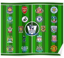 EPL~English Premier League 2014~2015 Poster