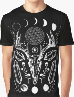 Crystal Moon. Graphic T-Shirt