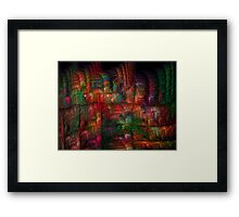 The Strong Fabric Of Dreams Framed Print