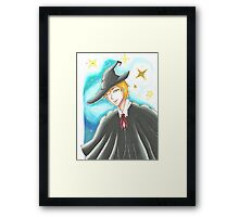 Space Wizard Framed Print