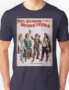 Performing Arts Posters Paul Gilmore in The musketeers 2021 Unisex T-Shirt