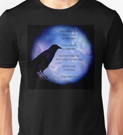 Poe-I Loved Alone-2 Unisex T-Shirt