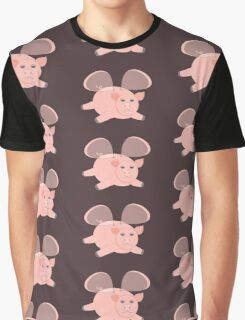 EVENING OF THE GLASSWINGED PIG Graphic T-Shirt