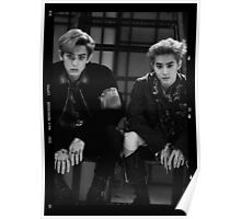 Exo Lotto - Chanyeol & Suho Poster