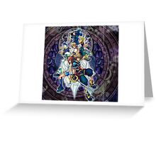 kingdom hearts aurora Greeting Card