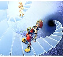 sora and nanime divine steps Photographic Print