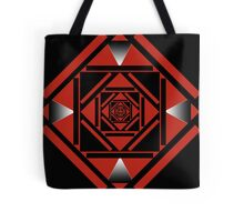 The Red Illusion of Falling Tote Bag