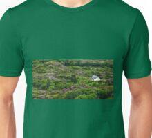 Irish cottage in the hills Unisex T-Shirt