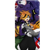 a nightmare before christmas sora and friends iPhone Case/Skin