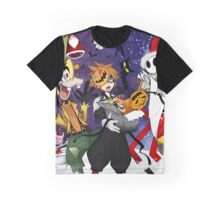 a nightmare before christmas sora and friends Graphic T-Shirt