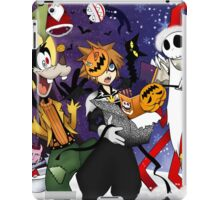 a nightmare before christmas sora and friends iPad Case/Skin