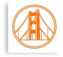 Golden Gate Golden State Canvas Print