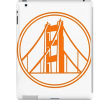 Golden Gate Golden State iPad Case/Skin