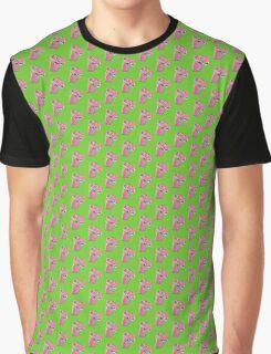 Pink Dino Graphic T-Shirt
