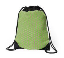 Pink Dino Drawstring Bag