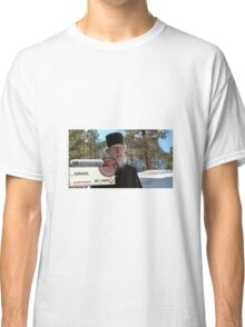 Brother Nathanael: Blank Check Classic T-Shirt