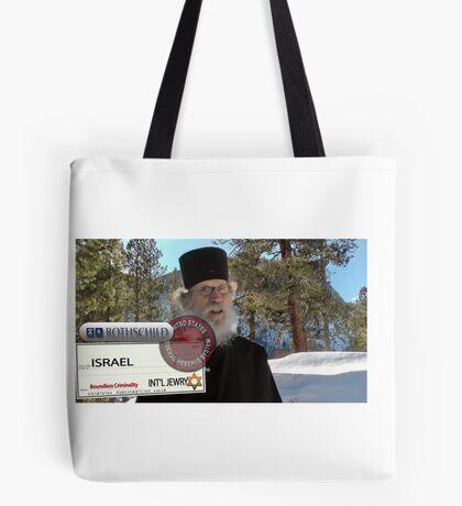 Brother Nathanael: Blank Check Tote Bag