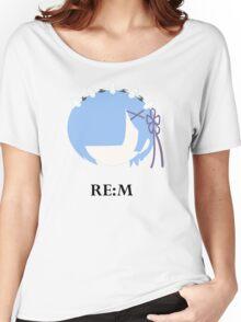 RE:M - RE:Zero kara hajimeru isekai seikatsu Women's Relaxed Fit T-Shirt