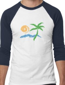 Summer Men's Baseball ¾ T-Shirt