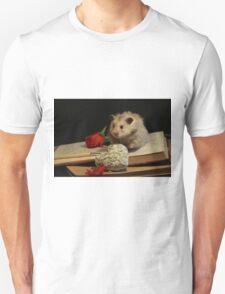 Hamster write a poem Unisex T-Shirt
