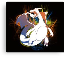 Charizard Revolution Canvas Print