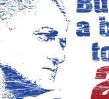 Bill Clinton Building a Bridge 1996 Presidential Campaign Sticker