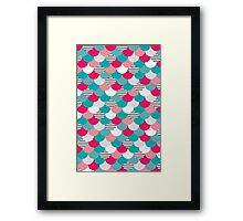 Scale Pattern Framed Print