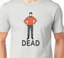 Dead Red Shirt Unisex T-Shirt