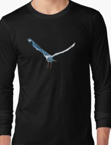 Flying Seagull.T-Shirt, Prints and more. Long Sleeve T-Shirt