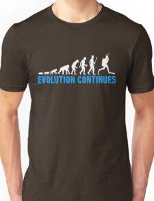 Funny Scuba Diving Evolution Continues Unisex T-Shirt