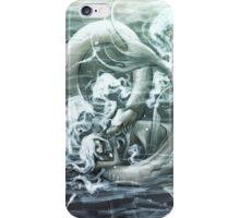 Mermaid and Seamonster iPhone Case/Skin
