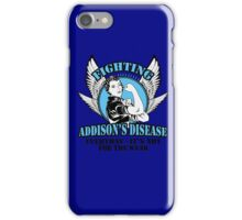 Addisions disease iPhone Case/Skin