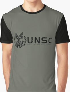Halo - United Nations Space Command Graphic T-Shirt
