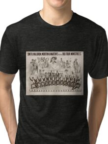 Performing Arts Posters Smith Waldron Morton Martins Original Big Four Minstrels 1739 Tri-blend T-Shirt
