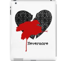 Nevermore Red iPad Case/Skin