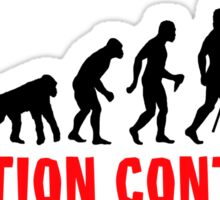 Scuba Diving The Evolution Of Man Continues  Sticker