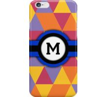Monogram M iPhone Case/Skin