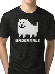 Annoying Dog Undertale Gear! Tri-blend T-Shirt