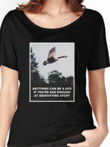 Anything can be a UFO Women's Relaxed Fit T-Shirt