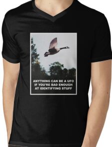 Anything can be a UFO Mens V-Neck T-Shirt