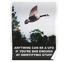 Anything can be a UFO Poster