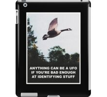 Anything can be a UFO iPad Case/Skin